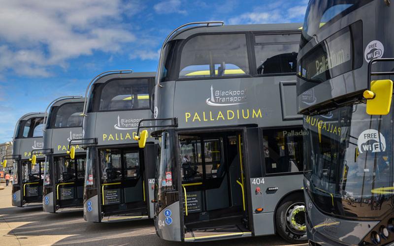 10 New Enviro400 Citys for Blackpool Transport