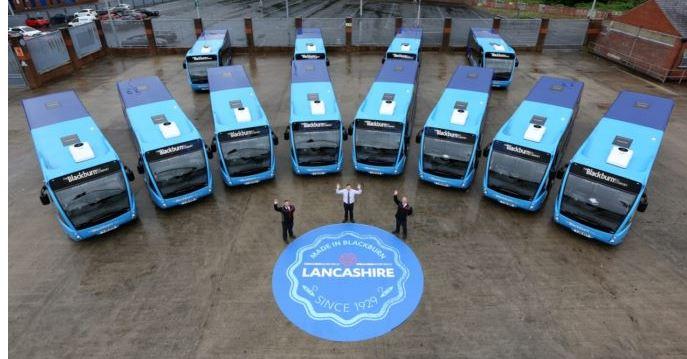 New buses in Blackburn